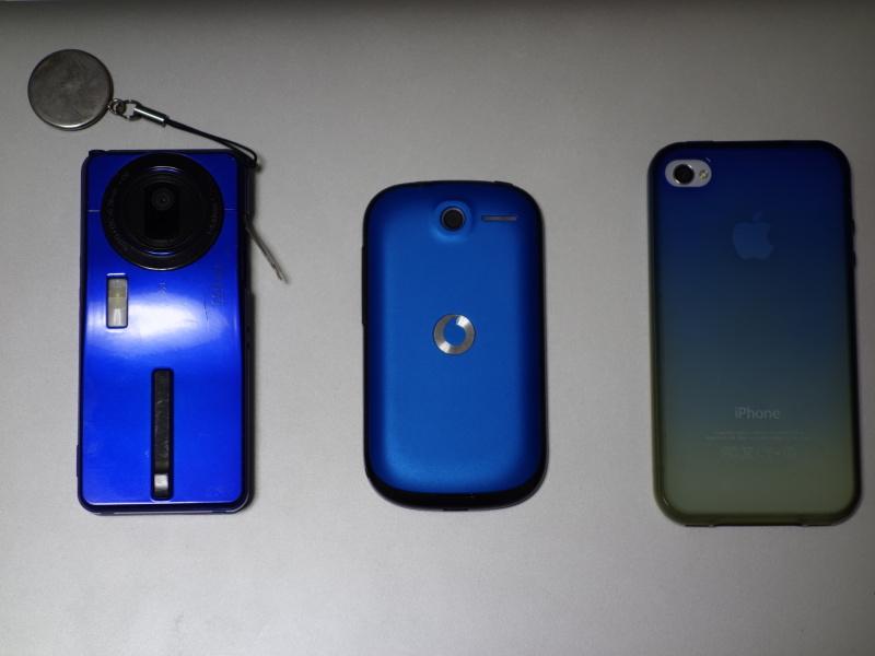 携帯3台裏