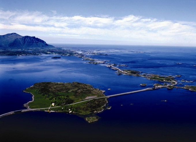 The Atlantic Road spectacular road in Norway Remarkable beauty 13534