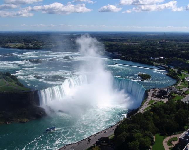 Niagara Falls Horseshoe Falls view
