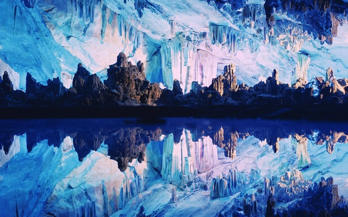 Chine reed flute cave 01